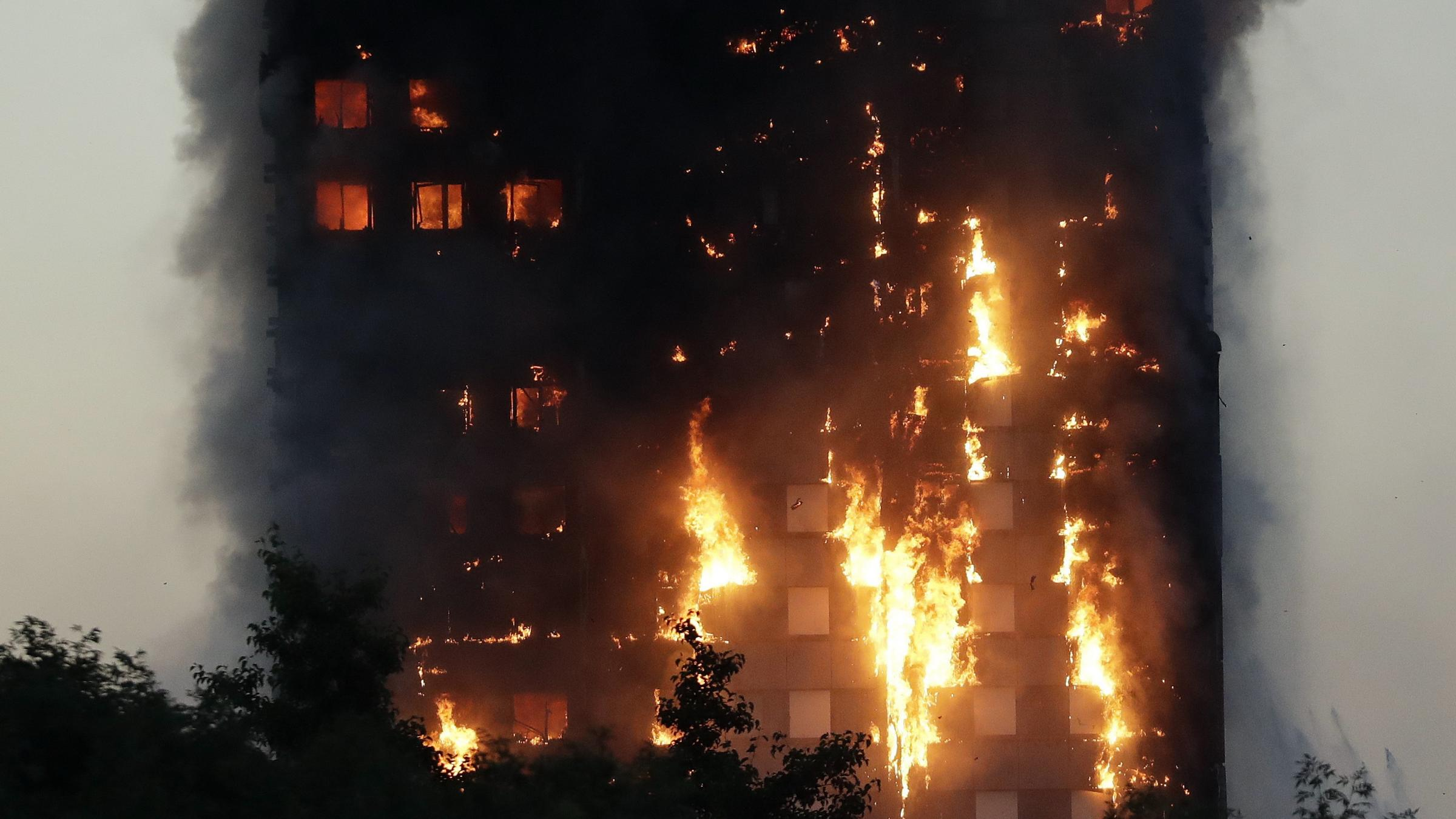 Several killed, more than 60 hurt in London fire