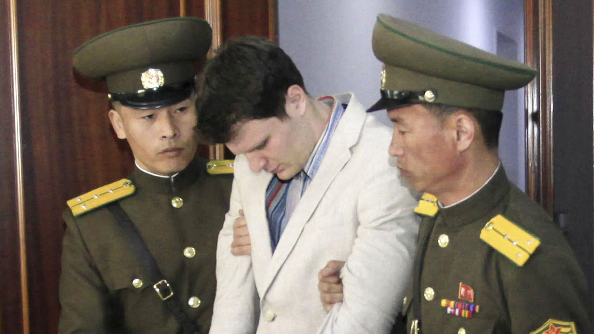 Ohio student freed by North Korea has severe neurological injury