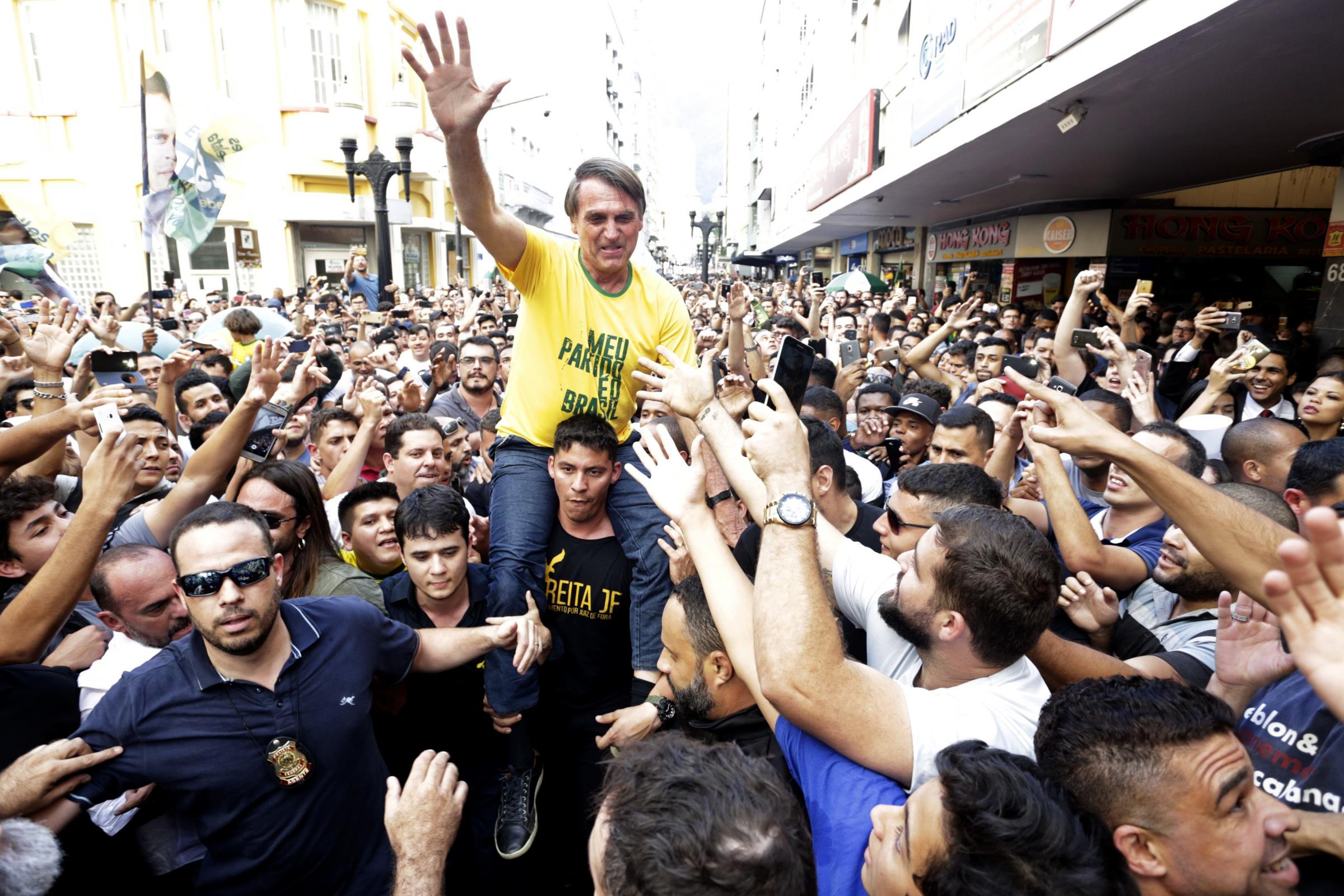 Brazil Presidential Candidate Stabbed At Rally