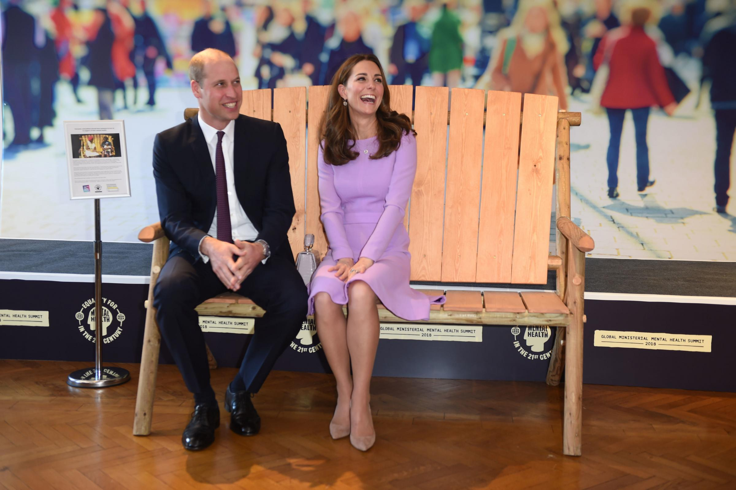 Duke and Duchess of Cambridge visit Coach Core in Essex