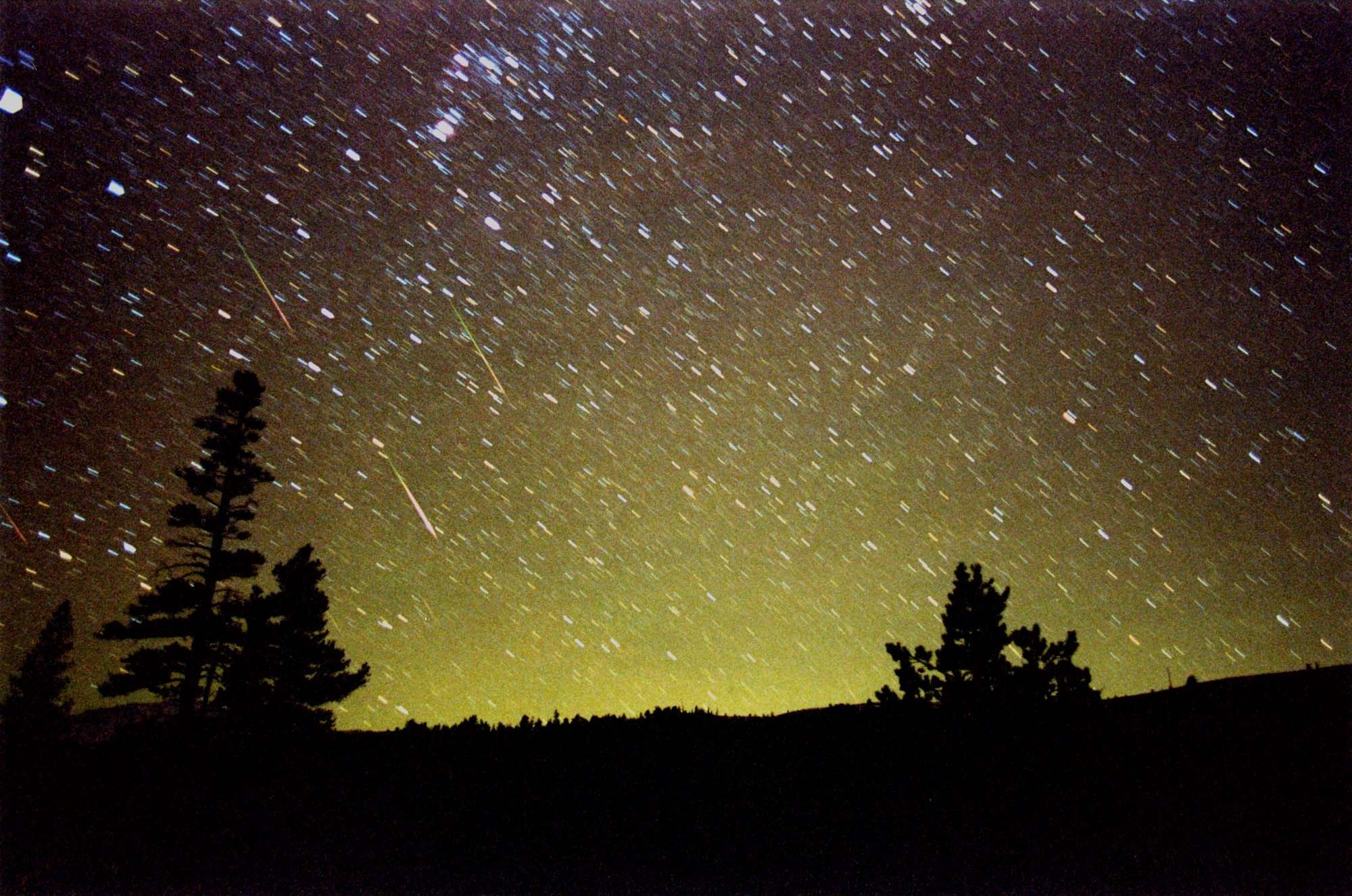 A powerful meteor shower Aquarids